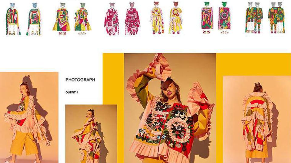 Zhu Tianying 申请专业:服装设计 OFFER院校:帕森斯设计学院
